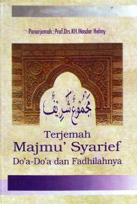 Terjemah Majmu Syarif Doa doa dan Fadhilahnya