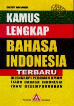 Kamus lengkap Bahasa Indonesia Terbaru