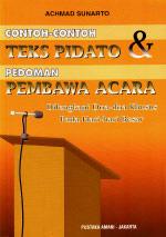 Contoh-contoh Teks Pidato & Pembawa acara