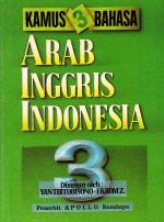 Kamus 3 Bahasa Arab Inggris Indonesia