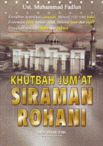 Khutbah Jum'at Siraman Rohani