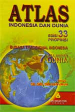 Atlas Indonesia dan Dunia 33 propinsi