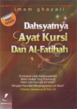 Dahsyatnya Ayat Kursi Dan Al-Fatihah